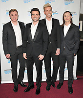 Collabro ( Michael Auger, Jamie Lambert, Matthew Pagan, Thomas J Redgrave ) at the Parkinson's UK presents Symfunny No. 2, Royal Albert Hall, Kensington Gore, London, England, UK, on Wednesday 19 April 2017.<br /> CAP/CAN<br /> &copy;CAN/Capital Pictures