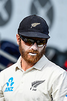 Kane Williamson of the Black Caps during Day 4 of the Second International Cricket Test match, New Zealand V England, Hagley Oval, Christchurch, New Zealand, 2nd April 2018.Copyright photo: John Davidson / www.photosport.nz