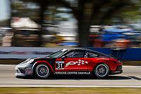 2017 Porsche GT3 Cup USA<br /> Sebring International Raceway, Sebring, FL USA<br /> Friday 17 March 2017<br /> 31, Michael de Quesada, GT3P, USA, 2017 Porsche 991<br /> World Copyright: Jake Galstad/LAT Images<br /> ref: Digital Image lat-galstad-SIR-0317-14695