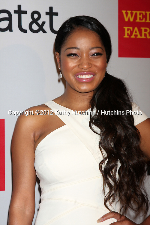 LOS ANGELES - FEB 11:  Keke Palmer arrives at the NAACP Image Awards Nominees Reception at the Beverly Hills Hotel on February 11, 2012 in Beverly Hills, CA