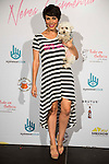 Nerea Garmendia and her Dog attends to the photocall of the celebration of the 2nd Aniversary of By Nerea Garmendia at COAM in Madrid. June 06. 2016. (ALTERPHOTOS/Borja B.Hojas)
