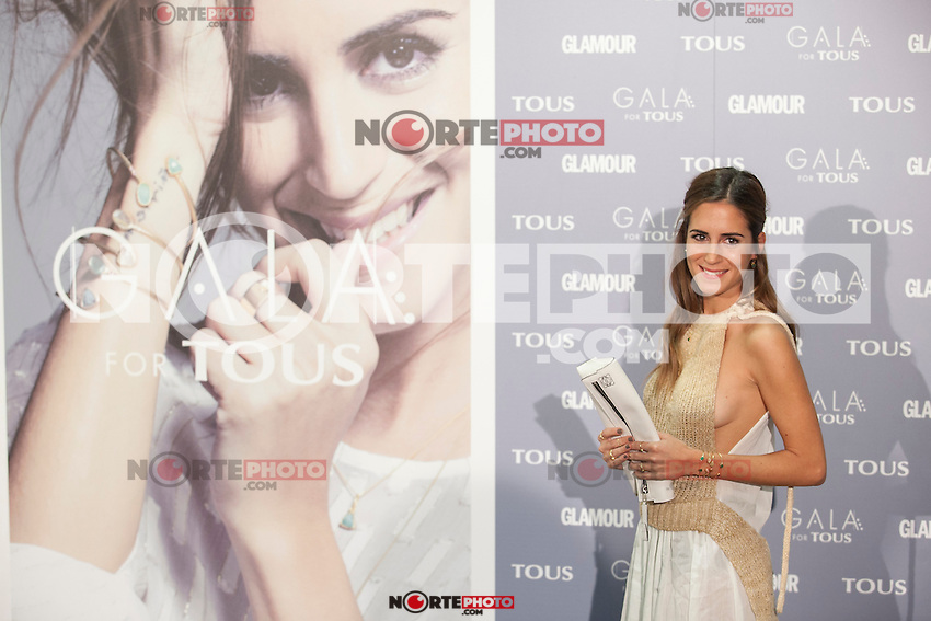 Gala Gonzalez poses for the photographers during TOUS presentation in Madrid, Spain. January 21, 2015. (ALTERPHOTOS/Victor Blanco) /NortePhoto<br />