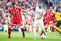 REAL MADRID v BAYERN MUNICH. UEFA Champions League 2017-2018.