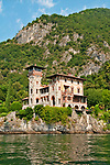 Villa La Gaeta on Lake Como, Italy built in 1920 and now rented out as apartments