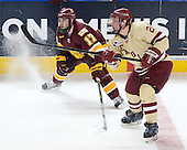 Mike Seidel (Duluth - 17), Bill Arnold (BC - 24) - The Boston College Eagles defeated the University of Minnesota Duluth Bulldogs 4-0 to win the NCAA Northeast Regional on Sunday, March 25, 2012, at the DCU Center in Worcester, Massachusetts.