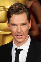 HOLLYWOOD, CA, USA - MARCH 02: Benedict Cumberbatch at the 86th Annual Academy Awards held at Dolby Theatre on March 2, 2014 in Hollywood, Los Angeles, California, United States. (Photo by Xavier Collin/Celebrity Monitor)