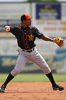 May 26 2008:   Marcus Lemon of the Bakersfield Blaze during game against the Inland Empire 66'ers at Arrowhead Credit Union Park in San Bernardino,CA.  Photo by Larry Goren/Four Seam Images