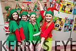 CHRISTMAS PLAY: Adriana Hayes, Ava Gannon, Eavan Griffin, Sarah Jane Costello  students  at Scoil Eoin, Balloonagh enjoying their Christmas play on Tuesday