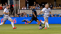 San Jose, CA - Tuesday June 11, 2019: Marcos López #27 during the US Open Cup match between the San Jose Earthquakes and Sacramento Republic FC at Avaya Stadium.