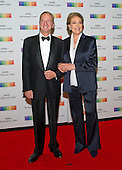 David Bohnett and Julie Andrews arrive for the formal Artist's Dinner honoring the recipients of the 38th Annual Kennedy Center Honors hosted by United States Secretary of State John F. Kerry at the U.S. Department of State in Washington, D.C. on Saturday, December 5, 2015. The 2015 honorees are: singer-songwriter Carole King, filmmaker George Lucas, actress and singer Rita Moreno, conductor Seiji Ozawa, and actress and Broadway star Cicely Tyson.<br /> Credit: Ron Sachs / Pool via CNP
