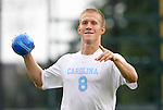 31 August 2008: UNC's Garry Lewis. The University of North Carolina Tar Heels defeated the Virginia Commonwealth University Rams 1-0 in overtime at Fetzer Field in Chapel Hill, North Carolina in an NCAA Division I Men's college soccer game.