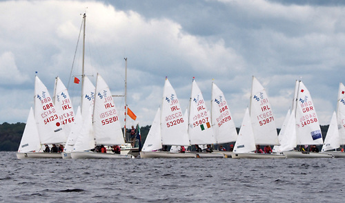 A competitive start for the 420 fleet contesting its Connaught Championships as part of Double Ree Regatta