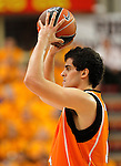 Baloncesto Fuelabrada's Leo Mainoldi during Liga Endesa ACB match.October 30,2011. (ALTERPHOTOS/Acero)