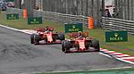 14.04.2019, Shanghai Audi International Circuit, Shanghai, 2019 FORMULA 1 HEINEKEN CHINESE GRAND PRIX<br /> im Bild<br />Charles Leclerc (MCO#16), Scuderia Ferrari, Sebastian Vettel (GER#5), Scuderia Ferrari<br /> <br /><br /> <br /> Foto &copy; nordphoto / Bratic