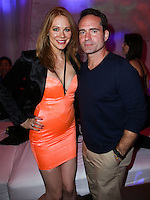 HOLLYWOOD, LOS ANGELES, CA, USA - AUGUST 18: Maitland Ward, Jason Patric at the Los Angeles Premiere Of Lionsgate Films' 'The Prince' After Party held at Supperclub on August 18, 2014 in Hollywood, Los Angeles, California, United States. (Photo by Xavier Collin/Celebrity Monitor)