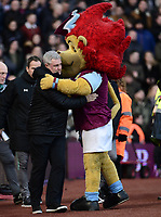 Steve Bruce, manager of Aston Villa during the Sky Bet Championship match between Aston Villa and Birmingham City at Villa Park, Birmingham, England on 11 February 2018. Photo by Bradley Collyer/PRiME Media Images.
