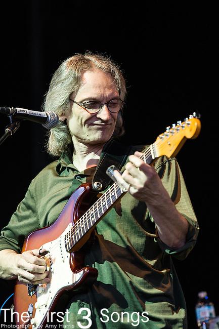 Sonny Landreth performs during the Frampton's Guitar Circus at Riverbend Music Center in Cincinnati, Ohio.