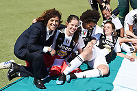 esultanza a fine gara Juventus.  Celebration at the end of the match . Rita Guarino <br /> Verona 20-4-2019 Stadio AGSM Olivieri <br /> Football Women Serie A Hellas Verona - Juventus <br /> Juventus win italian championship <br /> Photo Daniele Buffa / Image Sport / Insidefoto