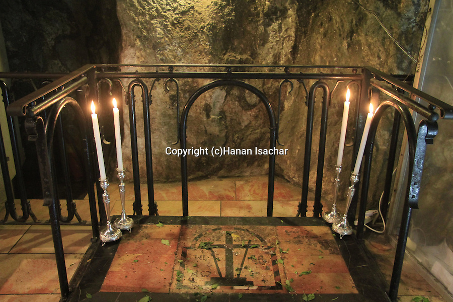 Israel, Jerusalem, Finding of the Cross Chapel at the Church of the Holy Sepulchre