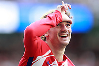 Atletico de Madrid's Antoine Griezmann celebrates goal during La Liga match. April 8,2018. (ALTERPHOTOS/Acero) /NortePhoto NORTEPHOTOMEXICO