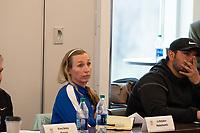 Kansas City, KS - Thursday, April 18, 2018: NDP, member meeting, during U.S. Soccer Member Meeting at the National Development Center in Kansas City, Kansas.