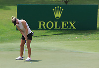 Nicole Broch Larsen (DEN) in action on the 8th during Round 4 of the HSBC Womens Champions 2018 at Sentosa Golf Club on the Sunday 4th March 2018.<br /> Picture:  Thos Caffrey / www.golffile.ie<br /> <br /> All photo usage must carry mandatory copyright credit (&copy; Golffile | Thos Caffrey)