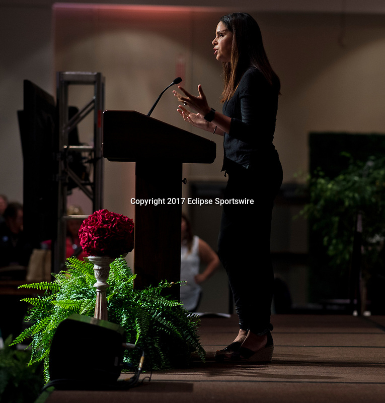 SARATOGA SPRINGS, NY - AUG 13: Opening Ceremonies at the Inaugural Equestricon Convention on August 13, 2017 in Saratoga Springs, New York. photo by Eclipse Sportswire/Equestricon