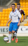 St Johnstone v Hearts...03.08.14  Steven Anderson Testimonial<br /> Saints trilaist Mark Miller<br /> Picture by Graeme Hart.<br /> Copyright Perthshire Picture Agency<br /> Tel: 01738 623350  Mobile: 07990 594431