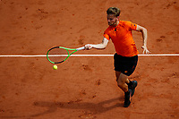 David Goffin (Bel) <br /> Tennis Roland Garros 2017 <br /> Foto Antoine Couvercelle / Panoramic / Insidefoto <br /> ITALY ONLY