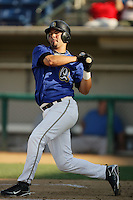 August 30 2009: Abel Nieves of the Rancho Cucamonga Quakes during game against the Stockton Ports at The Epicenter in Rancho Cucamonga,CA.  Photo by Larry Goren/Four Seam Images
