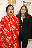 Monique Truong &amp; Margaret Mitsutani,  Translated Literature,arrive at  the 69th National Book Awards Ceremony and Benefit Dinner presented by the National Book Foundaton on November 14, 2018 at Cipriani Wall Street in New York, New York, USA.<br /> <br /> photo by Robin Platzer/Twin Images<br />  <br /> phone number 212-935-0770