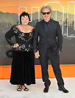 """LONDON, ENGLAND - JULY 30: Dalia Ibelhauptaite and Dexter Fletcher at the """"Once Upon A Time In ... Hollywood"""" UK film premiere, Odeon Luxe Leicester Square, Leicester Square, on Tuesday 30 July 2019 in London, England, UK.<br /> CAP/CAN<br /> ©CAN/Capital Pictures"""