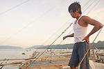 Bagan fisher, Kaimana area, Papua