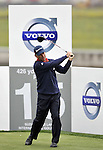 SUZHOU, CHINA - APRIL 15:  Corey Pavin of USA tee off on the 15th hole during the Round One of the Volvo China Open on April 15, 2010 in Suzhou, China. Photo by Victor Fraile / The Power of Sport Images