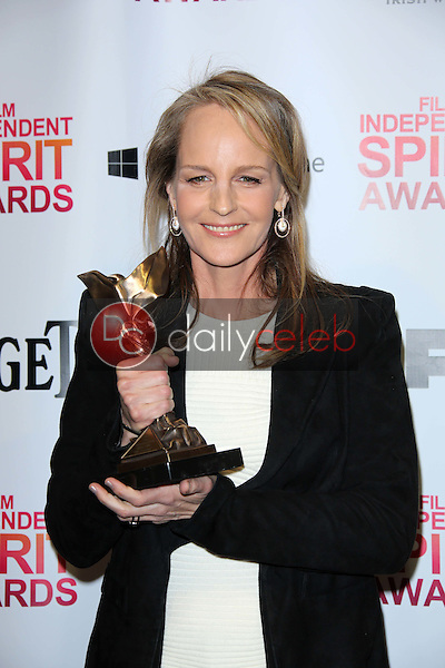 Helen Hunt<br /> at the 2013 Film Independent Spirit Awards, Private Location, Santa Monica, CA 02-23-13<br /> David Edwards/DailyCeleb.com 818-249-4998