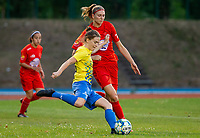 20200821 - Woluwe: pictured during a friendly match between Femina WS Woluwe vs K Wuustwezel FC on 21th of August 2020, in Stade Fallon, Woluwe. PHOTO: Sportpix.be | SEVIL OKTEM