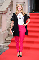 "Alix Wilton Regan<br /> arriving for the premiere of ""The Wife"" at Somerset House, London<br /> <br /> ©Ash Knotek  D3418  09/08/2018"