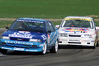 Round 1 of the 1992 British Touring Car Championship. #3 Andy Rouse (GBR). Team Securicor ICS Toyota. Toyota Carina. #2 John Cleland (GBR). Vauxhall Sport. Vauxhall Cavalier GSi.