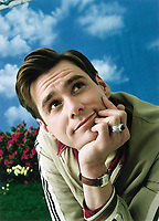 The Truman Show (1998) <br /> Promotional art with Jim Carrey<br /> *Filmstill - Editorial Use Only*<br /> CAP/KFS<br /> Image supplied by Capital Pictures