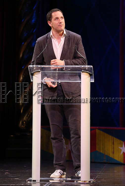 Bertie Carvel during the 69th Annual Theatre World Awards Presentation at the Music Box Theatre in New York City on June 03, 2013.