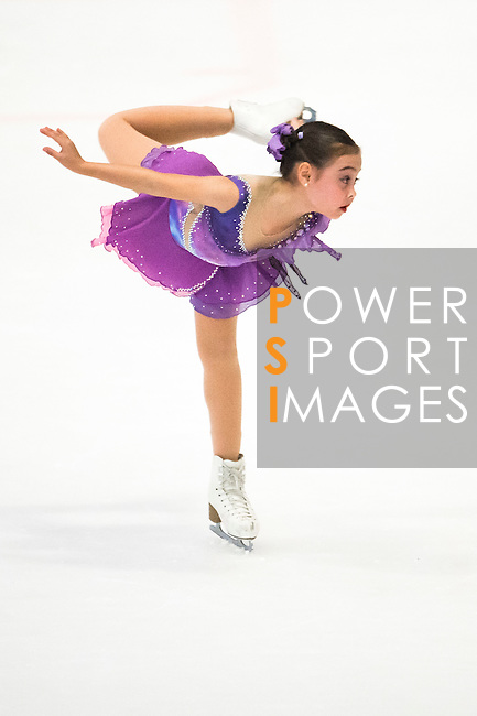 Anastasia Petrova of China competes during the Asian Junior Figure Skating Challenge Hong Kong 2016 at Kowloon Tong's Festival Walk Glacier on 03 October 2016, in Hong Kong, China. Photo by Marcio Machado / Power Sport Images
