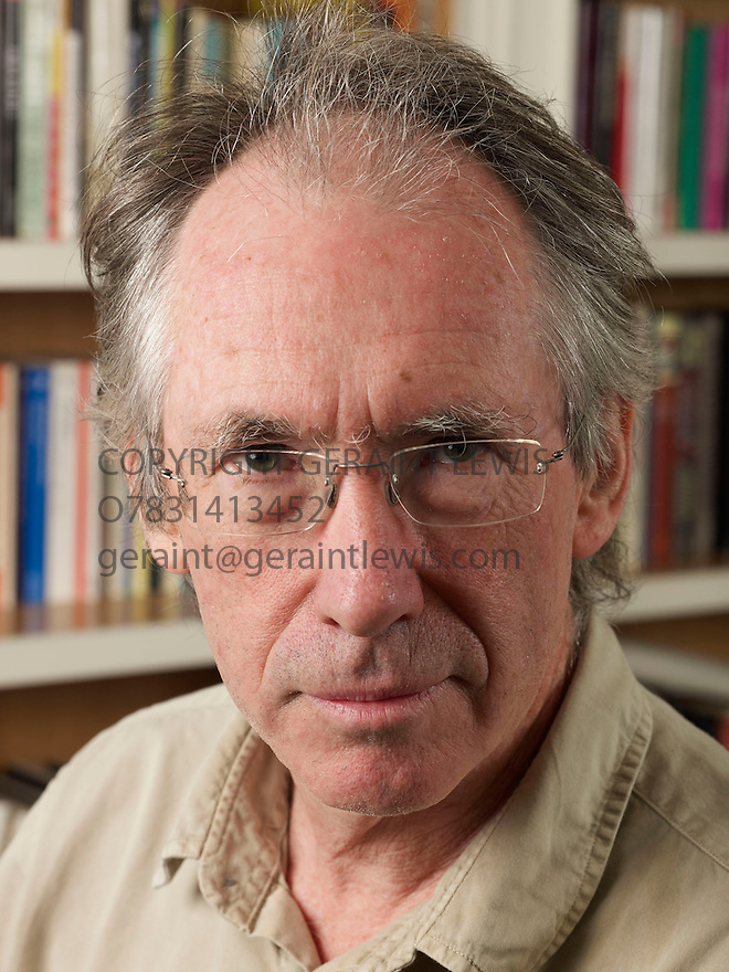 Ian McEwan,author  CREDIT Geraint Lewis