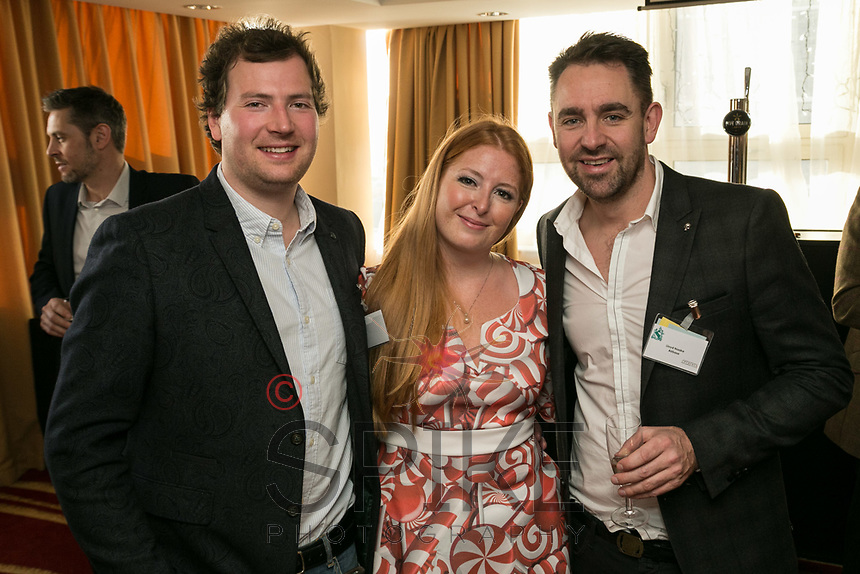 Max Treacy of Concept Axel, Charlotte Moreland of Training for Business and Lloyd Noake of Airbase