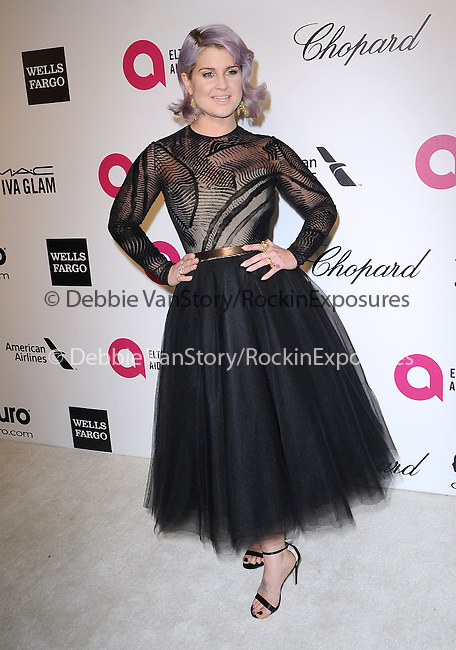 Kelly Osbourne attends the 2014 Elton John AIDS Foundation Academy Awards Viewing Party in West Hollyood, California on March 02,2014                                                                               © 2014 Hollywood Press Agency