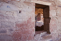 Balcony House windows, Mesa Verde National Park, Colorado, USA, September 2007
