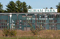 Rockingham Park in New Hampshire in September 2016, after its closure.