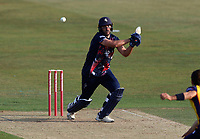Grant Stewart hits out for Kent during Kent Spitfires vs Essex Eagles, Vitality Blast T20 Cricket at The Spitfire Ground on 18th September 2020