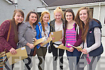 Students from Presentation Secondary School, Tralee, who received their Junior Certificate results on Wednesday morning were l-r: Lucy Foley, Rebecca O'Neill, Claire Dillon, Katie Dillon, Nell O'Connor and Katie Kennedy.