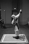 FACTORY..Conception : Hervé Robbe et Richard Deacon..Choregraphie : ROBBE Herve..Scénographie et sculptures  : Richard Deacon..Compagnie : ..Création lumière : Yves Godin..Création des costumes  : Richard Deacon, Dominique Fabrègue assistée de Laurence Alquier ..Musique : Groupe L.F.O, Eric Sleichim / Blindman Quartet..Avec Catherine Girard, Emmanuelle Huynh, Françoise Rognerud, Rachid Ouramdane et Christian Rizzo..Lieu : Ferme du Buisson..Cadre : ..Ville : Noisiel..Le : 04/1993..© Laurent PAILLIER / photosdedanse.com..All Rights reserved