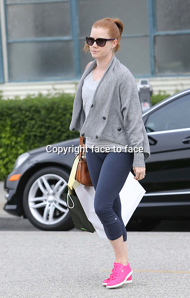 Amy Adams is shopping in Beverly Hills, 25.04.2014. <br /> Credit: Vida/face to face